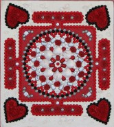 Picturi abstracte/ moderne Mandala iubirii