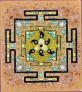 Picturi abstracte/ moderne Palatul de aur