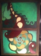 Picturi abstracte/ moderne Lillys misterious dream