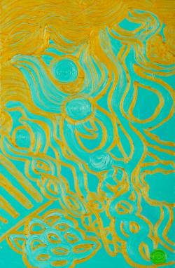 Picturi abstracte/ moderne Aquamarine