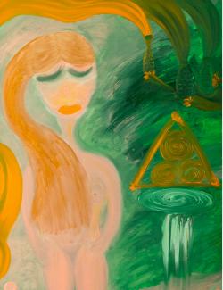 Picturi abstracte/ moderne Come Undone