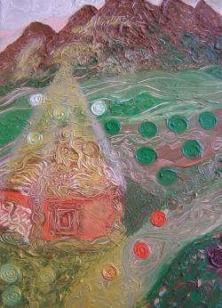 Picturi abstracte/ moderne Passover u/p