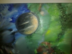 Picturi abstracte/ moderne Space 2