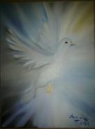 Picturi abstracte/ moderne White dove