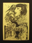 Picturi abstracte/ moderne Domnisoara leonor