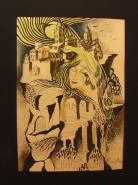 Picturi abstracte/ moderne Domnita si paserea maiastra