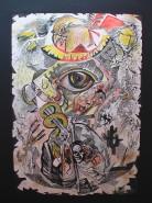 Picturi abstracte/ moderne Ochi de vultur