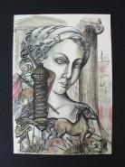 Picturi abstracte/ moderne Troia