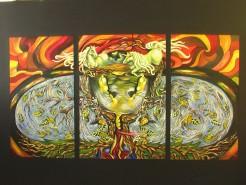 Picturi abstracte/ moderne Valea inorogilor