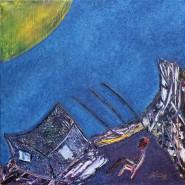 Picturi abstracte/ moderne Coliba pescarului