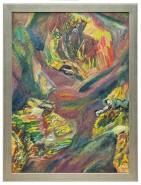 Picturi abstracte/ moderne Granita intre lumi