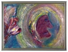 Picturi abstracte/ moderne Puterea gandului