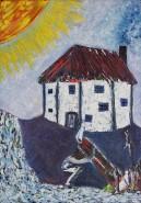 Picturi abstracte/ moderne Sacrificiul
