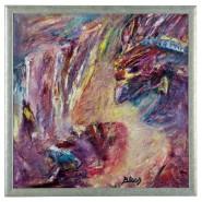 Picturi abstracte/ moderne Sacrificiul astec