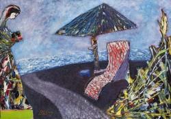 Picturi abstracte/ moderne Un loc linistit