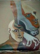 Picturi abstracte/ moderne Talpa sortii