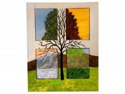 Picturi abstracte/ moderne Anotimpuri 2