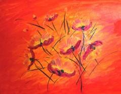 Picturi abstracte/ moderne Bulgari de soare
