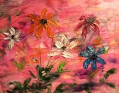 Picturi abstracte/ moderne In lumina soarelui