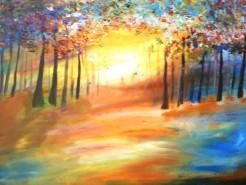 Picturi abstracte/ moderne Intr-un vis