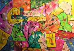 Picturi abstracte/ moderne Joc de culori