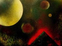 Picturi abstracte/ moderne Nebuloasa