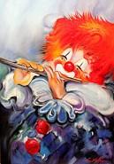 Picturi abstracte/ moderne Clown 2