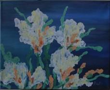 Picturi abstracte/ moderne Flori marine