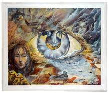Picturi abstracte/ moderne Ochiul intern