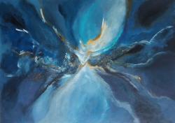 Picturi abstracte/ moderne Aripi de lumina