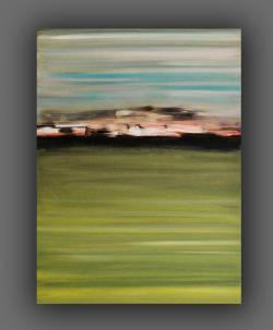 Picturi abstracte/ moderne Oras pe mare
