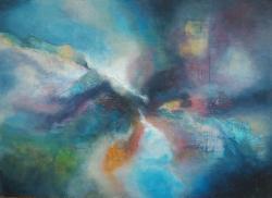 Picturi abstracte/ moderne Plimbare prin Univers