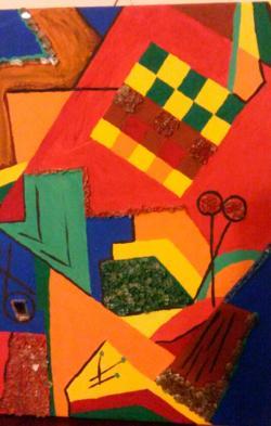 Picturi abstracte/ moderne atelier de creatie
