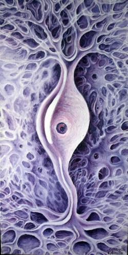 Picturi abstracte/ moderne Neuron bipolar