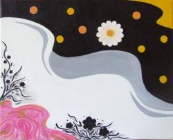 Picturi abstracte/ moderne Straturi plutitoare