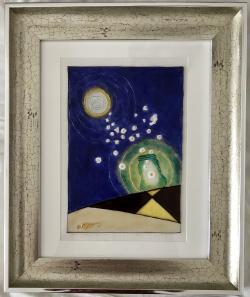 Picturi abstracte/ moderne Lumina noaptea