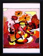 Picturi abstracte/ moderne Sonata vioarei