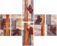 Picturi abstracte/ moderne Compozitie cu flori 2