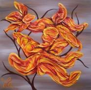 Picturi abstracte/ moderne Crini 3