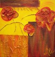 Picturi abstracte/ moderne Flori pe camp
