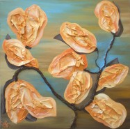 Picturi abstracte/ moderne Magnolii 2