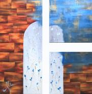 Picturi abstracte/ moderne Poarta spre iarna