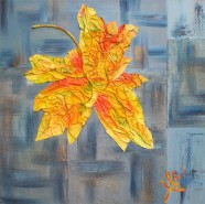 Picturi abstracte/ moderne Zi de octombrie 4