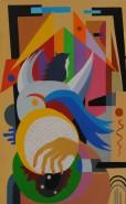 Picturi abstracte/ moderne Fuga in egipt