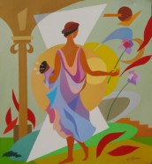 Picturi abstracte/ moderne Primavara