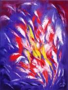 Picturi abstracte/ moderne Foc de artificii