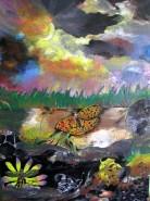 Picturi abstracte/ moderne Earthsky