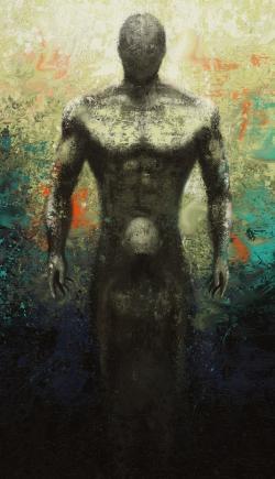 Picturi abstracte/ moderne Think big, little boy!