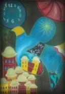 Picturi abstracte/ moderne Zborul
