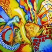 Picturi abstracte/ moderne Cautandu l pe murphy